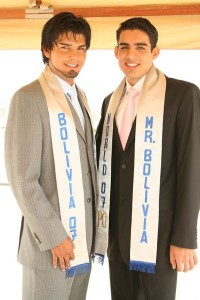 Male Model y Mister Bolivia